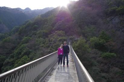 Umenoki Todoro suspension bridge