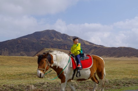 Horse riding at Kusasenri