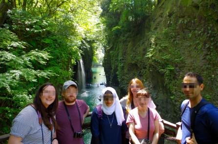 Manai waterfall, Takachiho