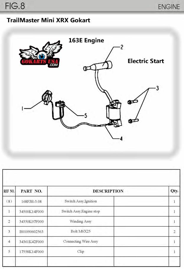 TrailMaster_Mini_XRX_Electric_Start?resize=623%2C910&ssl=1 diagrams 600800 honda gx390 engine wiring powermaxduromax honda honda gx390 starter wiring diagram at mifinder.co