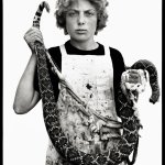 Boyd Fortin, Thirteen Year Old Rattlesnake Skinner, Sweetwater, TX, March 10, 1979