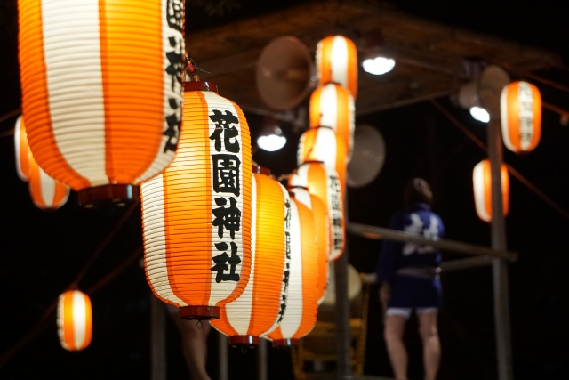 新宿花園神社盆踊り