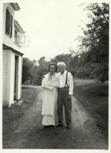 Georgia O'Keeffe and Alfred Stieglitz, undated, unidentified photographer