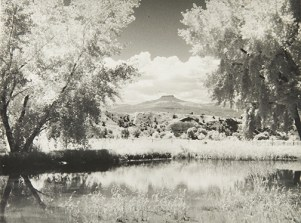 Ghost Ranch, undated Unidentified photographer Gelatin silver print 7 ¾ x 10 in. 2014.03.280