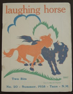 Johnson, Willard [Spud], ed. Laughing Horse, no. 20, Santa Fe, N.M., 1938.