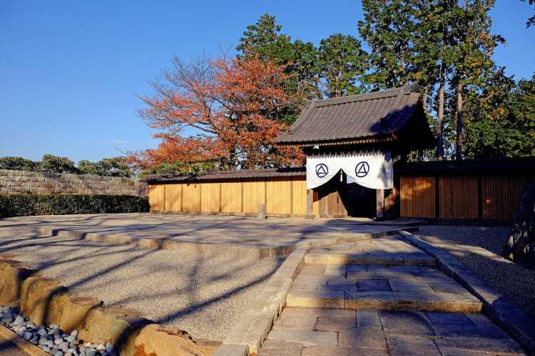 Meigetsu Gate, Enoura observatory, Odawara, Japan