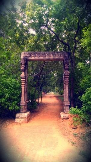 Entrance Pillar