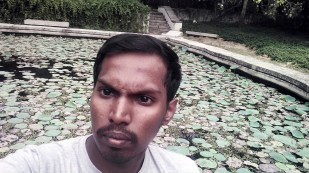 Pond Selfie :P