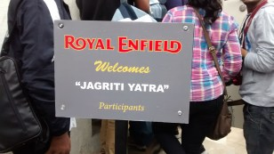 Thanks Royal Enfield for such a warm welcome
