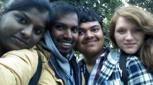 Jai, Me, Mani and B