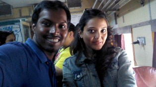 With Sruthi.