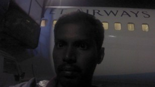 Clicked while waiting for flight transfer. Outside my 1st flight.