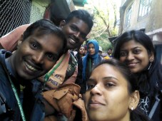 Me, Puppy, Lavanya and Lakshmi
