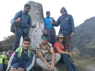 On way to the summit :D