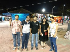 Tushar, Myself, Deepu, Harika and Kishori