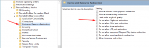 Group Policy Disable Remote Desktop Copy Paste Path