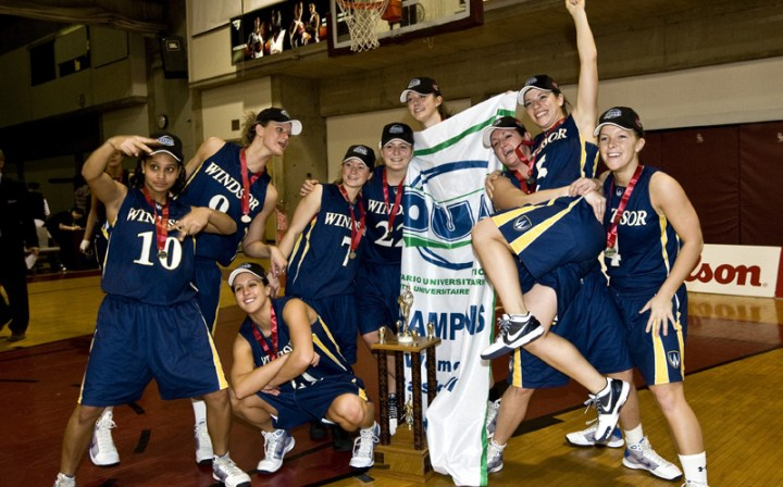 2010 OUA Women's Champions