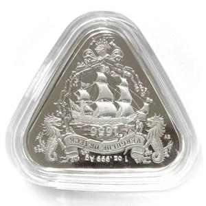 2020 Vergulde Draeck 1 oz Silber