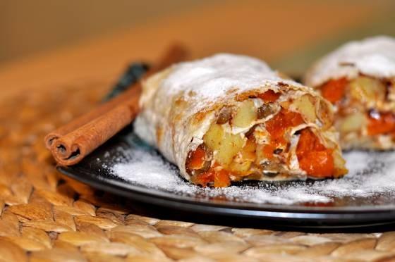 Рецепты Голдайк. Штрудель из лаваша с яблоками — Рецепты ...