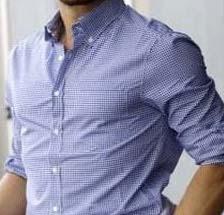 ワイシャツの襟ボタンダウンカラー
