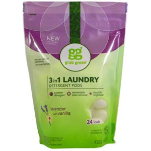 GrabGreen 洗濯用洗剤 ラベンダー