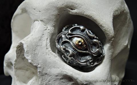 フルオーダーリング 悪魔崇拝者 Silver925 K18