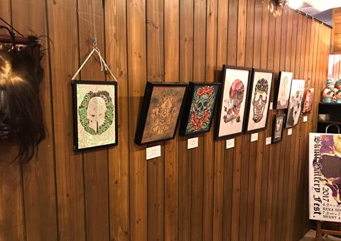 Skull Gallery Festival in MERRY ART GALLERY別館