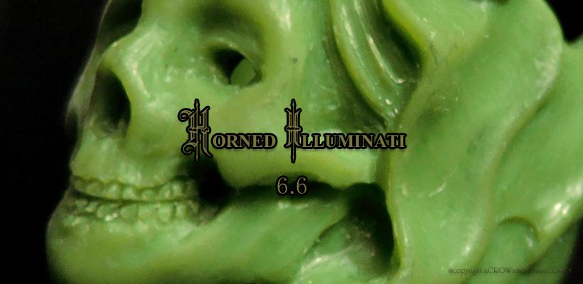 新作リング「HORNED ILLUMINATI」 ワックス原型