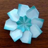 Star in a Star Teabag Fold Again