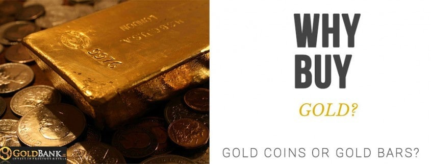 Should you buy Gold Coins or Gold Bars?