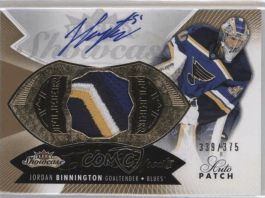 Jordan Binnington Rookie Card