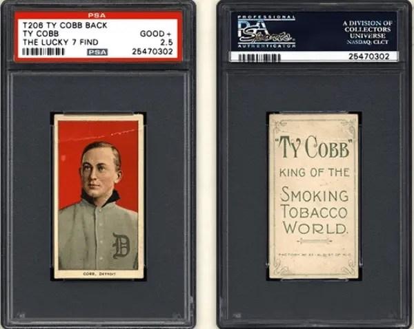 T206 Ty Cobb baseball card