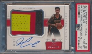 John Collins Rookie Cards auto