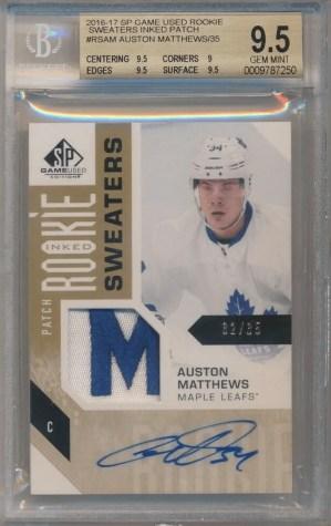 AUSTON MATTHEWS rookie card