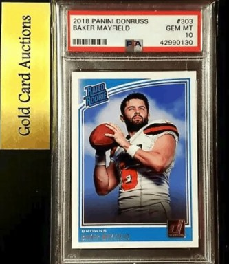 baker mayfield rookie card