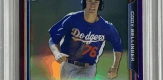 Cody Bellinger rookie card