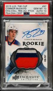 mcdavid rookie card upper deck