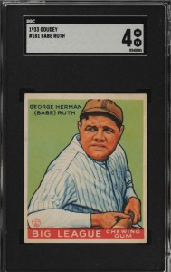 how much is a babe ruth rookie card worth