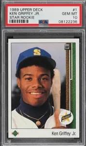 best upper deck baseball cards