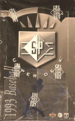 1993 sp baseball box