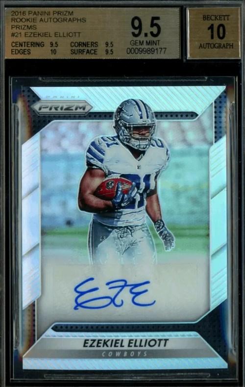 Ezekiel Elliott Rookie Card