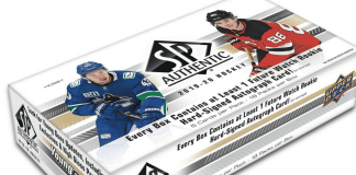 2019-20 SP Authentic Hockey Cards