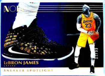 2019 LeBron James Acetate Sneaker Spotligh