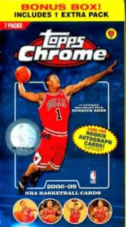 2008 Topps Chrome Basketball box