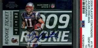 top Julian Edelman rookie card