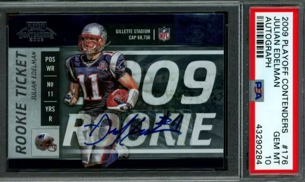 Julian Edelman rookie card