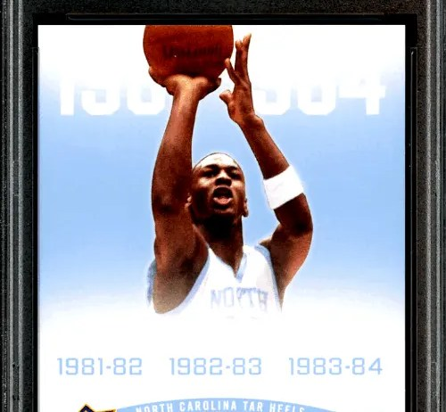 Best 7 Michael Jordan North Carolina Rookie Cards