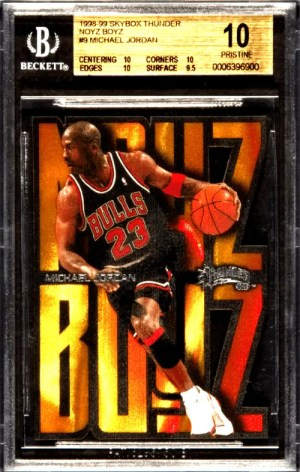 1998 Michael Jordan SkyBox Thunder Noyz Boyz