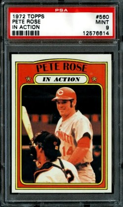 1972 Pete Rose Baseball Card