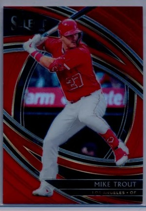 2020 Mike Trout Panini Select